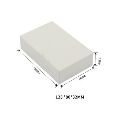 Enclosure Case Plastic Box Circuit Board Project Electronic 125x80x32mm Diy