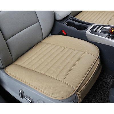 Beige Auto Car Vordersitz Sitzauflage Sitzbezüge Sitzmatte PU Leder Universal