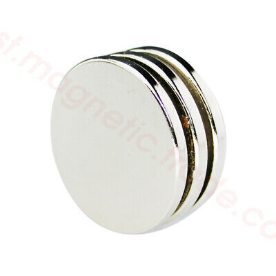 50mm X 5mm Disc Large Round Neodymium Super Strong Rare Earth Magnets N50
