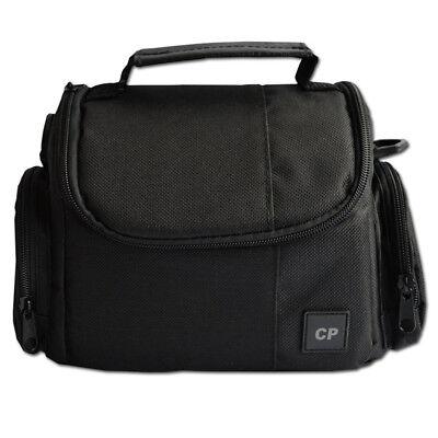 Deluxe Medium Camera Video Bag Case for Nikon Coolpix P1000, P900, B500, B700 (Deluxe Camera Bag)
