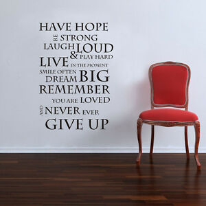 Inspirational-Have-Hope-Wall-Art-Quote-Stickers-Vinyl-Decal-Removable-Mural-DIY