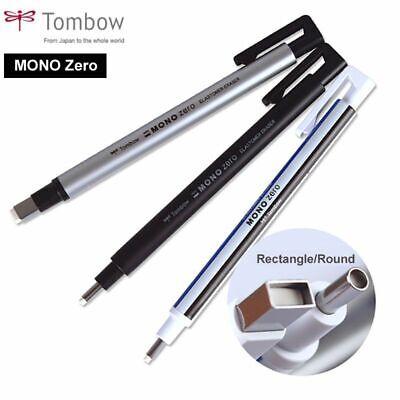 Super Fine Rubber Mono Zero Eraser Flat Tip Pen Type Professional Highlight