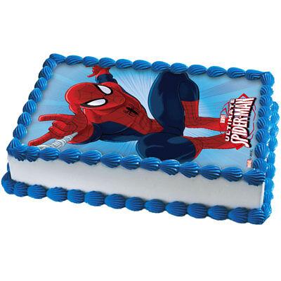 Spiderman Dc Marvel Eßbar Tortenaufleger Tortenbild Party Deko neu dvd Kostüm