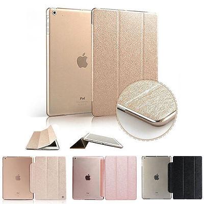 Magnetic Slim Sleep Wake Stand Smart Case Cover For iPad 2 3 4 5 Air 2 mini 1 2