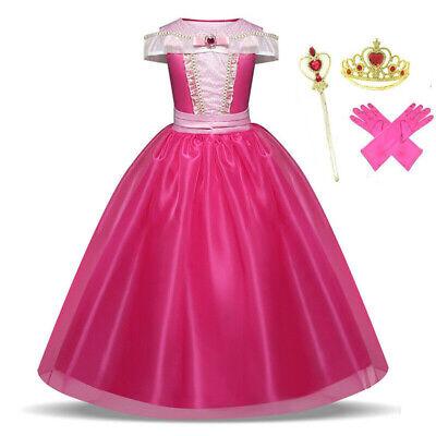Dornröschen Mädchen verkleiden sich Kinder Prinzessin Aurora Kostümzubehör