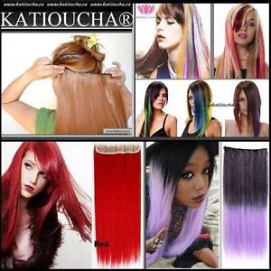 Extensions de Cheveux, Rallonges de Cheveux à Clip Synthétique de Haute Qualité