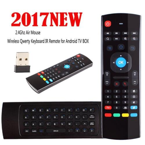 Details about MX3 Air Mouse Wireless Keyboard Remote Voice Control For  Android TV BOX /SmartTV