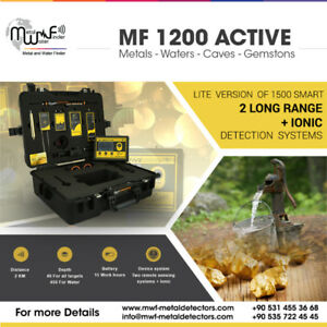 MF 1200 Active gold , metal , water with 3 detector system