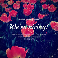 Part Time position avaibale at Impact Galerie in Old Montreal