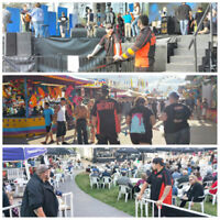 Now hiring for 2018 Summer Events Security - 204-272-9000