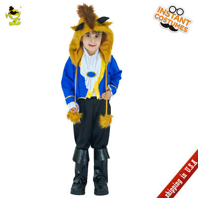 Kid Boy Wild Beast Costumes Carnival the Beautty and Beastt Cosplay Fancy - Kid Boy Costumes