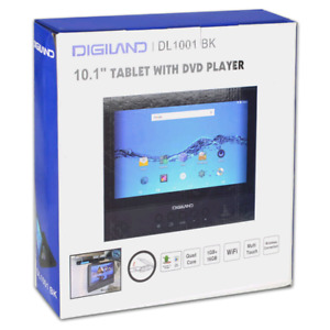"""Digiland DL1001 10.1"""" Android 7.0 2-in-1 Tablet / DVD Player"""