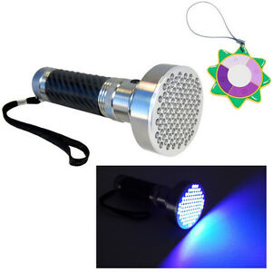 HQRP-100-LEDs-Professional-Ultra-Violet-Black-Light-Torch-Light-UV-Meter