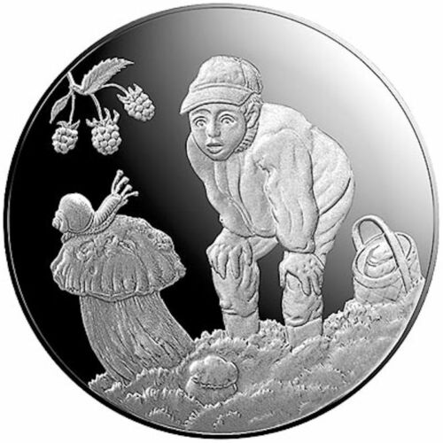 2019 Latvia € 5 Euro Silver Proof Coin Gifts of the Forest