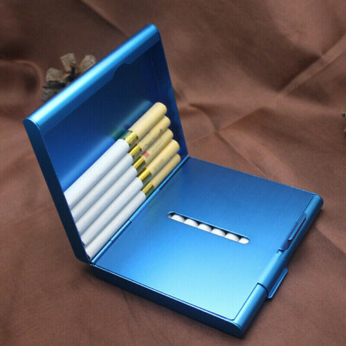 Zigarettenetui etui Zigaretten Nic Design schwarz gold Metall 12 er Box Lizenz