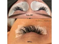 Individual eyelash extensions, [MOBILE APPOINTMENTS,] professional fully qualified lash technician.