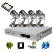 Security Camera System with HDD