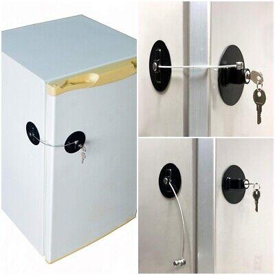 Black Children Safety Window Lock Refrigerator Door Lock Saf
