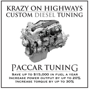Krazy On Highways Custom PACCAR PX & MX13 EGR, DPF & UREA Delete