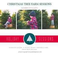 Contest Time.  Win an amazing Christmas Tree Farm session