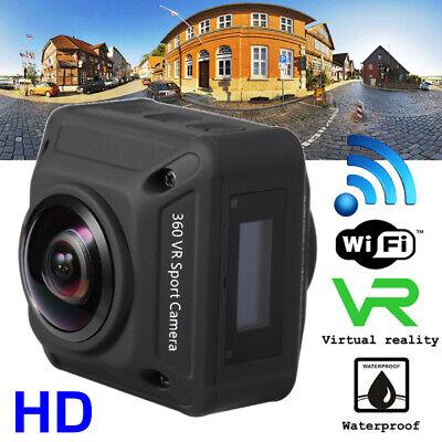 HD WiFi 360° Panoramic Sport Camera Action Driving Helmet Camera 720 Degree USA