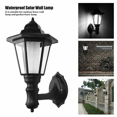 Front Door House Security Outside Light Outdoor Waterproof Solar LED Wall Lamp