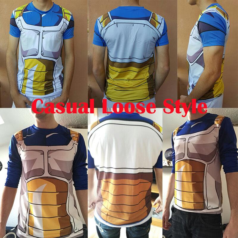 31654ba5 ... Men Dragon Ball Z Compression T-Shirt DBZ Goku Sports Short Sleeve  Jersey Tops ...
