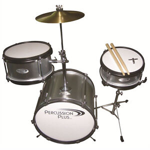 Percussion Plus 3 Piece Mini Drum Set