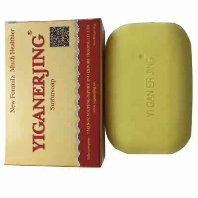 3 * YIGANERJING New Eczema Dermatitis Stop Itching Anti Fungus Cure Sulfur Soap
