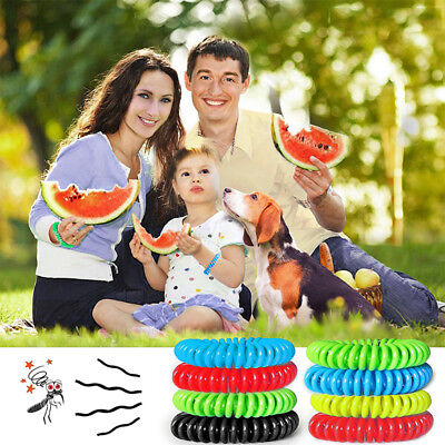 Baby Anti Mosquito Insect Repellent Wrist Hair Band Bracelet Bug Camping Outdoor ()