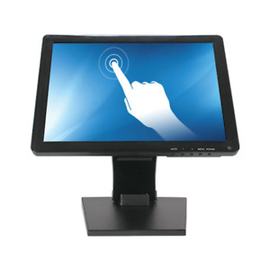 "POS Touch Screen 15"" Monitor With 2-Joint-Arm Stand"