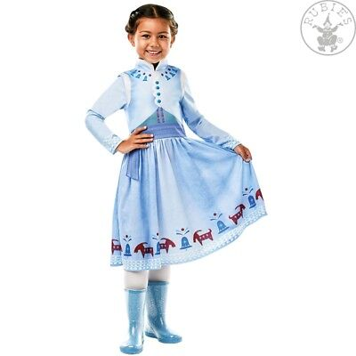 zen Olaf´s Adventure Classic Kostüm Disney Princess Kinder  (Princess Anna Frozen Kostüm)