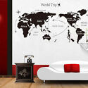 World Travel Vinyl Wall Decal