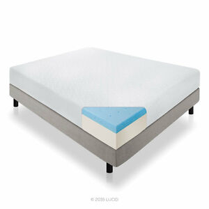 """12"""" Memory foam mattress and bed frame"""
