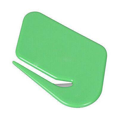 Sharp Mail Envelope Plastic Letter Opener Office Equipment Safety Paper Guarded