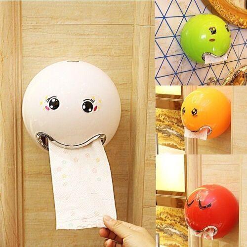 Emoji Kugel Toilettenpapier WC-Papierhalter Rollenhalter Klopapierhalter Neu