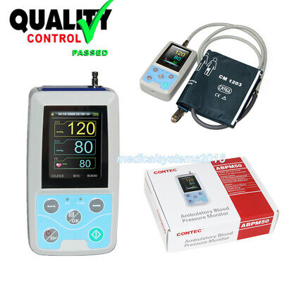 Contec Nibp Monitor 24hr Ambulatory Blood Pressure Holterpc Software Ce Fda Usa