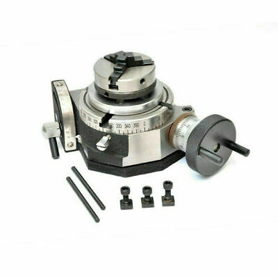 Tilting Rotary Table 4100mm With 65mm Mini Scroll Lathe Chuck Backplate