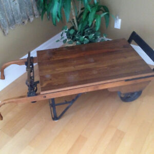 Antique Grain Scale (working) / coffee table