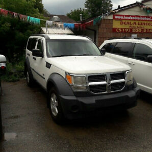 07 dodge nitro suv 4x4 safety & 3 month warranty* included