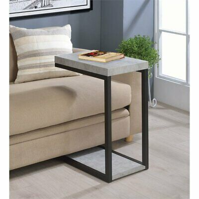 Coaster End Table in Cement and Black Disney Living Room Table