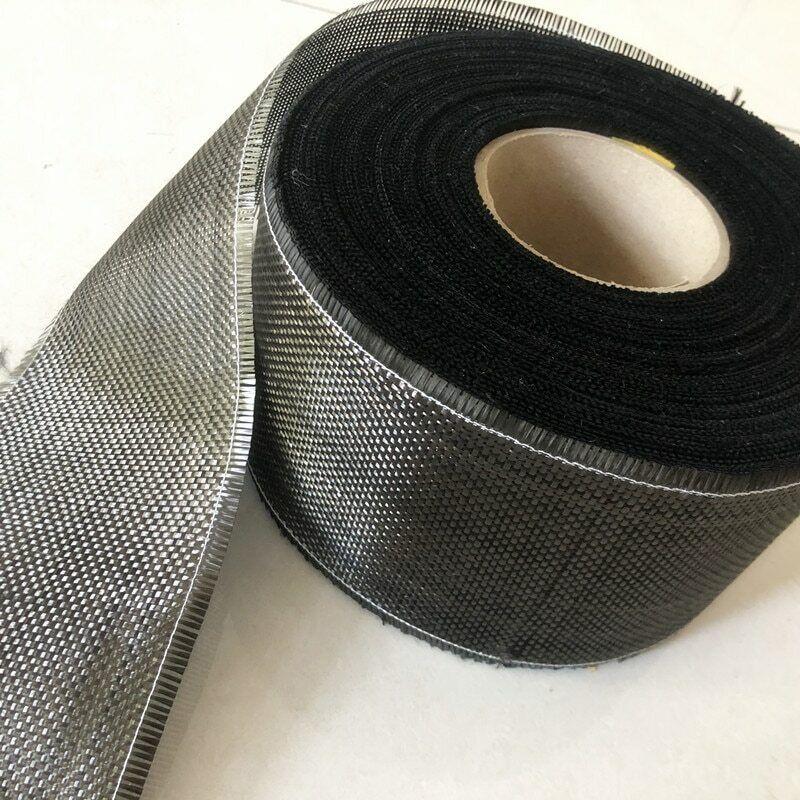 3K 200gsm Real Carbon fiber cloth plain 10cm width length 1M for Product repar