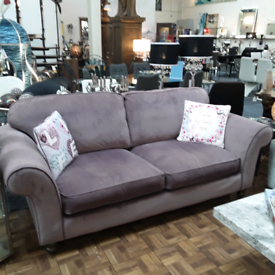 Beautiful Dusky Pink three seater Settee