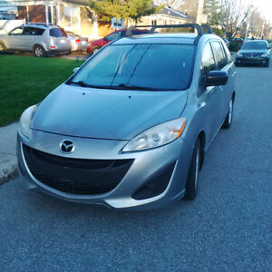 Mazda5 2012, très bonne condition, pneu été MAG/hiver jante
