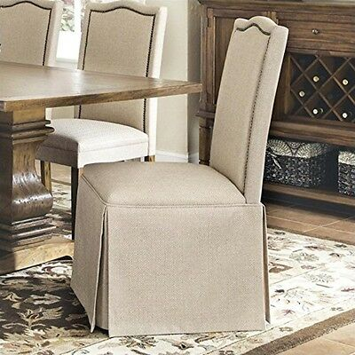 Coaster Parson Chair w/Skirt Set Of 2- 103713 CHAIR NEW