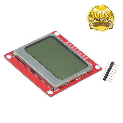 Diy Red 84 48 Fit For Nokia 5110 Lcd Display Screen Module Module Bsg