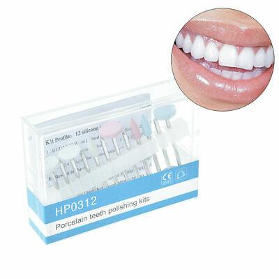 Dental Porcelain Teeth Polishing Kit Hp0312 For Low Speed Handpiece 12 Polis Wu