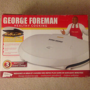 Family Sized George Forman Grill Kitchener / Waterloo Kitchener Area image 3