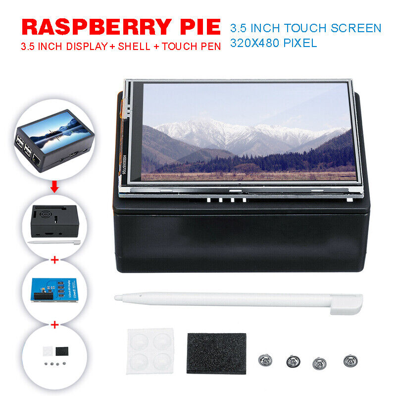 For Raspberry Pi 3.5 Inch 320x480 TFT Touch Screen LCD Displ
