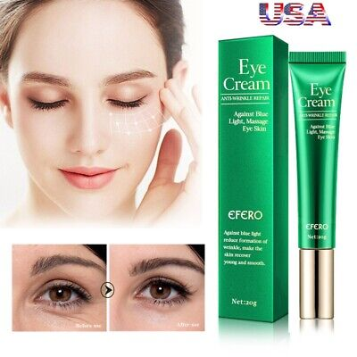 3Pc Best 100% Under Eye Cream -Remove Dark Circles Wrinkles Anti-Aging Puffy (Best Dark Circle Removal Cream)